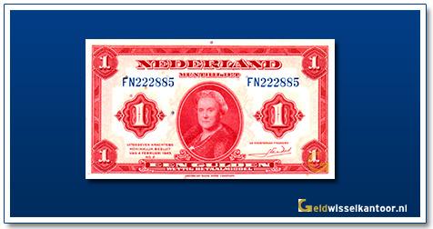 Nederland 1 Gulden 1943 Wilhelmina