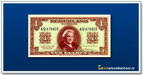 Nederland 1 Gulden 1945 Wilhelmina