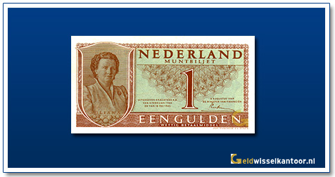 Nederland 1 Gulden 1949 Juliana