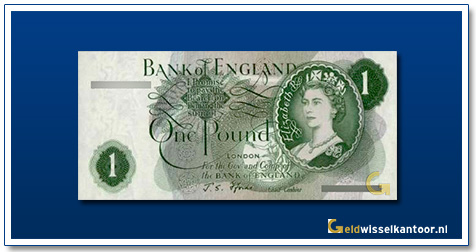 Engelse Ponden-1-Pond-1960-Queen-Elizabeth-II-Groot-Brittanie