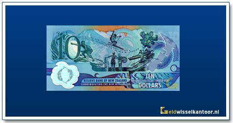 Geldwisselkantoor-10-Dollar-Millennium-Nieuw-Zeeland