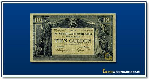 Nederland 10 Gulden 1904 Arbeid en Welvaart I
