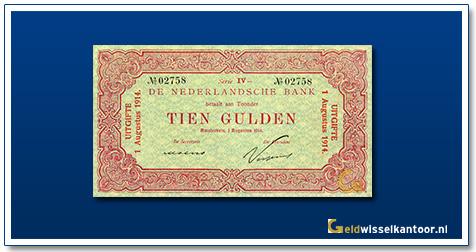 Nederland 10 Gulden 1914