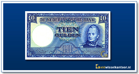 Nederland 10 1949 II Willem I / Molen