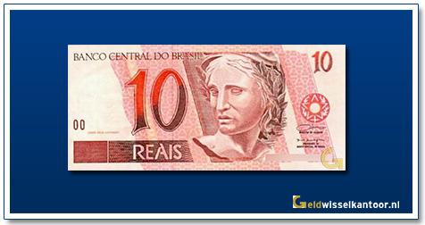 Geldwisselkantoor-10-Reais-1994-Brazilie