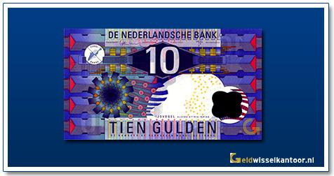 Nederland 10 Gulden 1997 IJsvogel
