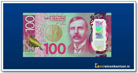 Geldwisselkantoor-100-Dollar-Lord-Rutherford-of-Nelson-Nieuw-Zeeland-2015