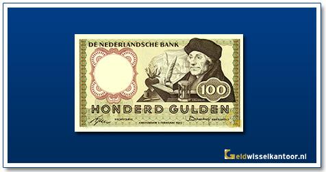 Nederland 100 Gulden 1953 Erasmus
