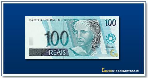 Geldwisselkantoor-100-Reais-1994-Brazilie