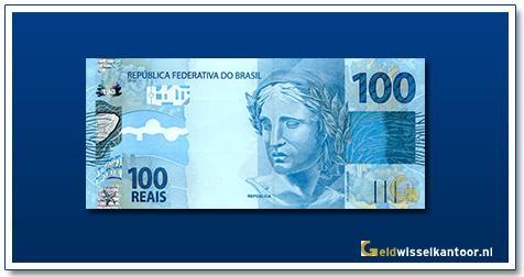 Geldwisselkantoor-100-Reais-2010-Brazilie