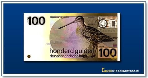 Nederland 100 Gulden 1977 Snip