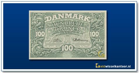 Deense Kronen-100-kroner-1945-1962-Denemarken