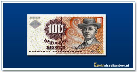 Deense Kronen-100-kroner-2002-Carl-Nielsen-Denemarken