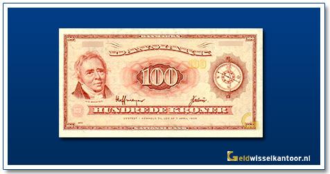 Deense Kronen-100-kroner-orsted-1961-1967-Denemarken