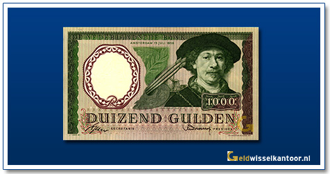 Nederland 1000 Gulden 1956 Rembrandt