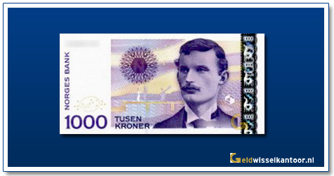 Geldwisselkantoor-1000-Kroner-Edvard-Munch-Noorwegen-2001