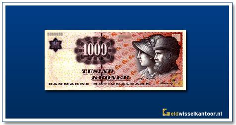 Deense Kronen-1000-kronen-2004-Anna-and-Michael-Ancher-Denemarken