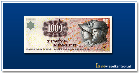 Deense Kronen-1000-kroner-1998-A&M-Ancher-Denemarken