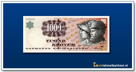 Deense Kronen-1000-kroner-1998-A&M-Ancher-Denemarken