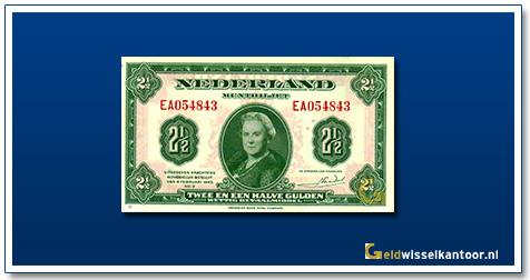 Nederland 2 1/2 Gulden 1943 Wilhelmina