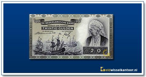 Nederland 20 Gulden 1939 Emma