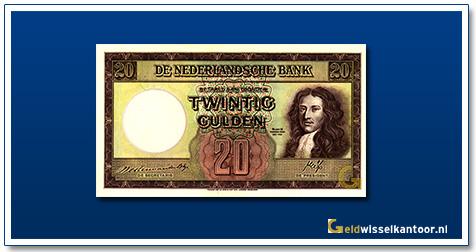 Nederland 20 Gulden 1945 Stadhouder Willem III