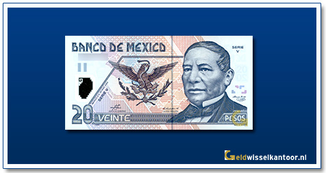Geldwisselkantoor-20-Nuevos-Pesos-B-Juarez-2003-Mexico