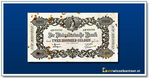 Nederland 200 Gulden 1860