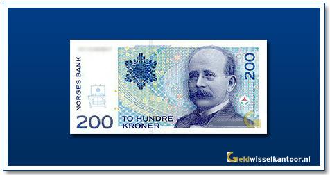 Geldwisselkantoor-200-Kroner-Kristian-Birkeland-Noorwegen-1994-1999