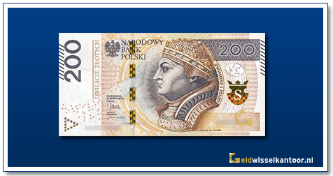 Geldwisselkantoor-200-Zlotych-Koning-Zygmunt-I-Polen-2015