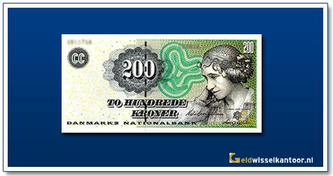 Deense Kronen-200-kroner-2003-J-L-Heiberg-Denemarken