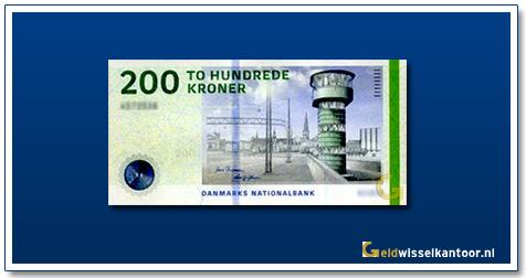 Deense Kronen-200-kroner-2009-Lnippelsbro-Bridge-Denemarken