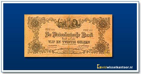 Nederland 25 Gulden 1860