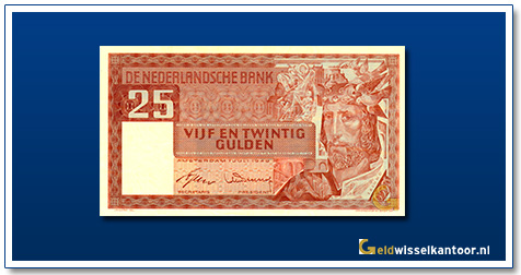 Nederland 25 Gulden 1949 Salomo