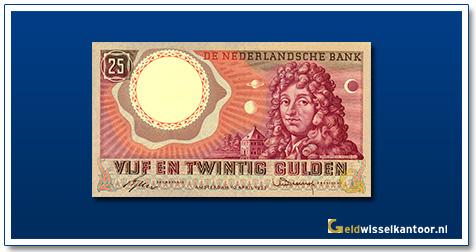 Nederland 25 Gulden 1955 Huygens