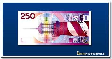 Nederland 250 Gulden 1955 Vuurtoren