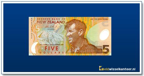 Geldwisselkantoor-5-Dollar-Sir-Edmunt-Hillary-1999-2006-Nieuw-Zeeland