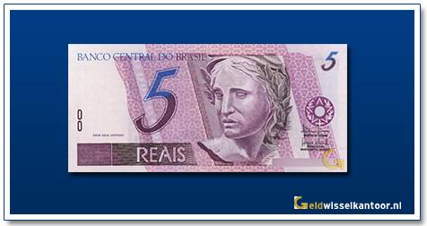 Geldwisselkantoor-5-Reais-1994-Brazilie