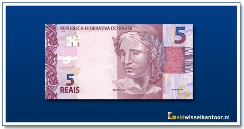 Geldwisselkantoor-5-Reais-2010-heden-Brazilie