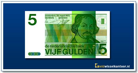 Nederland 5 Gulden 1973 Vondel II