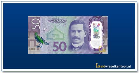 Geldwisselkantoor-50-Dollar-Sir-A-Ngata-2015-Nieuw-Zeeland