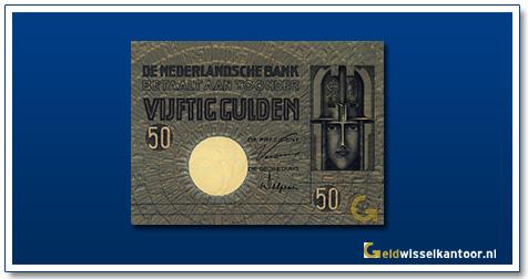 Nederland 50 Gulden 1929 Minerva