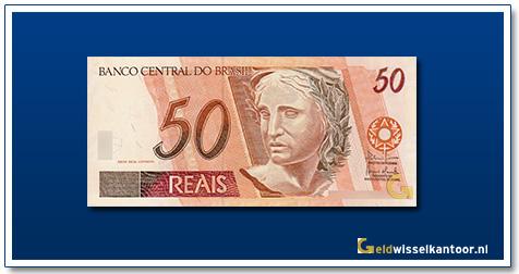 Geldwisselkantoor-50-Reais-1994-Brazilie