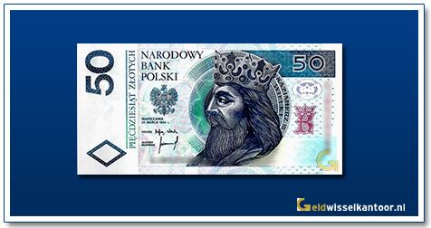 Geldwisselkantoor-50-Zlotych-Koning-Kazamierz-III-Polen-1994-95