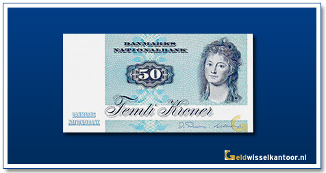 Deense Kronen-50-kroner-1972-88-Ryberg-Denemarken