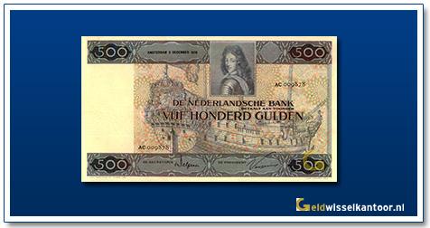 Nederland 500 Gulden 1930 Stadhouder Willem III