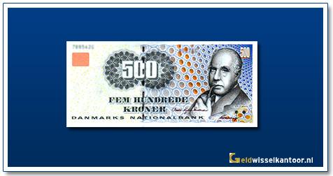 Deense Kronen-500-kroner-1997-N-Bohr-denemarken