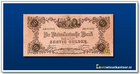 Nederland 60 Gulden 1860