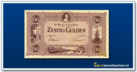 Nederland 60 Gulden 1921 Frederik Hendrik