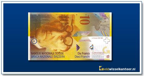 geldwisselkantoor-10-Franken-Le-Corbusier-Zwitserland-1995-2008